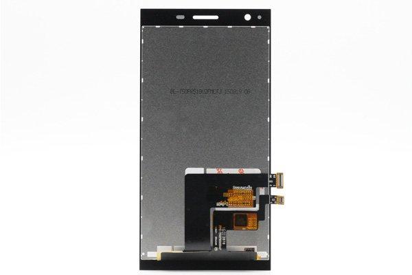 freetel XM / ZTE Blade VEC 4G フロントパネル ブラック [2]