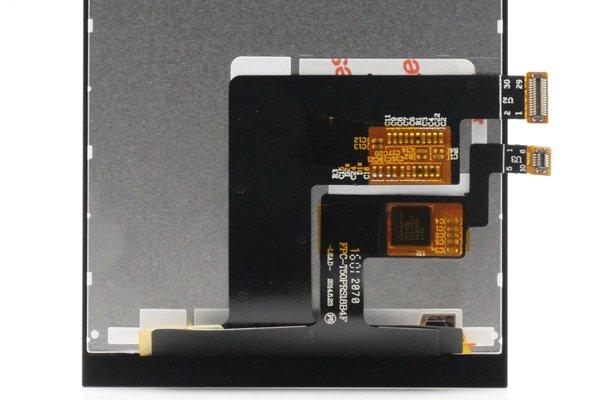 freetel XM / ZTE Blade VEC 4G フロントパネル ブラック [4]