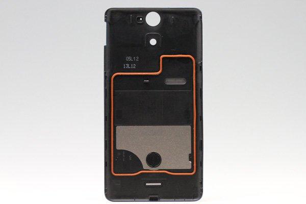 【ネコポス送料無料】Xperia AX (SO-01E) バッテリーカバー 全4色  [2]
