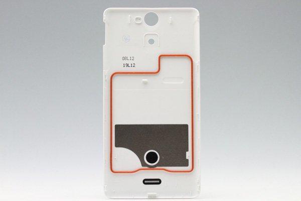 【ネコポス送料無料】Xperia AX (SO-01E) バッテリーカバー 全4色  [4]