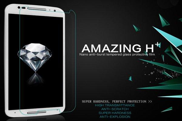 【ネコポス送料無料】Motorola Moto X (2nd Gen) 強化ガラスフィルム ナノコーティング 硬度9H  [2]
