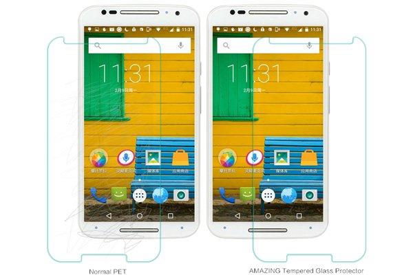 【ネコポス送料無料】Motorola Moto X (2nd Gen) 強化ガラスフィルム ナノコーティング 硬度9H  [4]