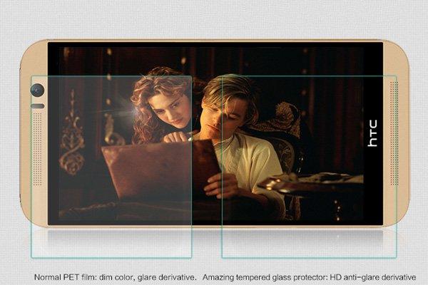 【ネコポス送料無料】HTC One (M9) 強化ガラスフィルム ナノコーティング 硬度9H  [3]