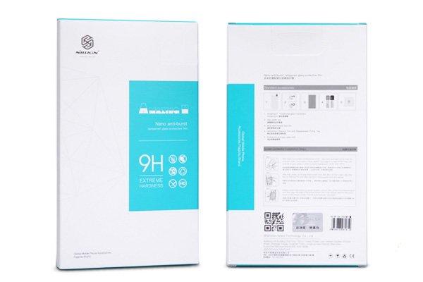 【ネコポス送料無料】HTC One (M9) 強化ガラスフィルム ナノコーティング 硬度9H  [8]