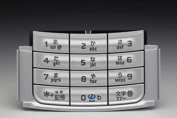 【ネコポス送料無料】NOKIA N95/X02NK用 日本語キーパッド  [1]