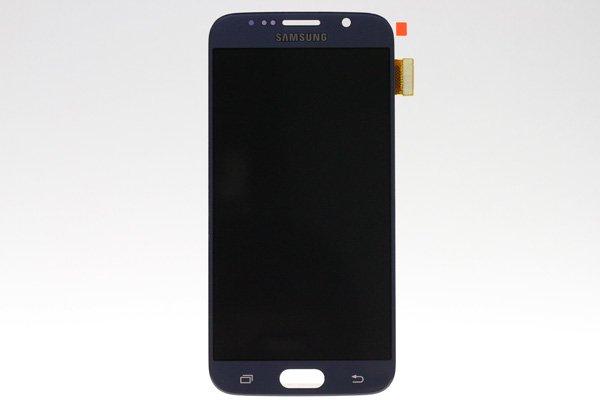 Galaxy S6 (SM-G920 SC-05G) フロントパネルASSY ブラック  [1]