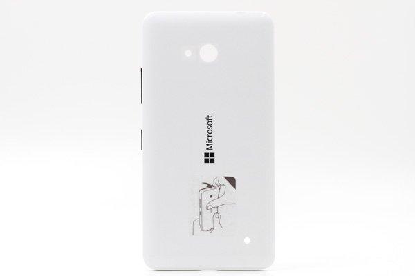 【ネコポス送料無料】Microsoft LUMIA640 バックカバー 全3色  [3]