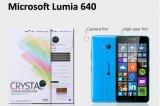 【ネコポス送料無料】Microsoft LUMIA640 液晶保護フィルムセット クリスタルクリアタイプ