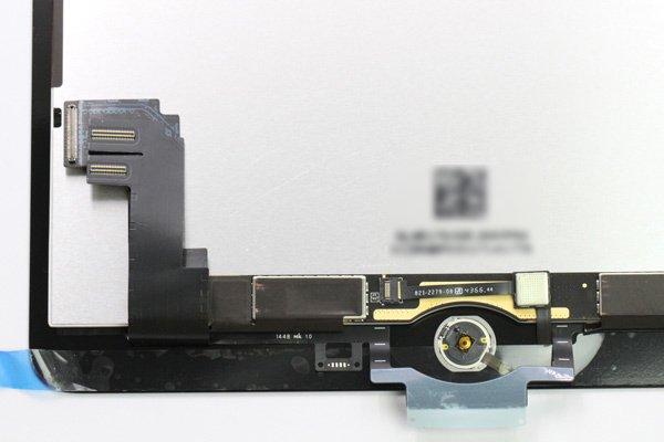 Apple iPad Air2 フロントパネルASSY ブラック 交換修理 [3]