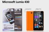 【ネコポス送料無料】Microsoft LUMIA430 液晶保護フィルムセット アンチグレアタイプ