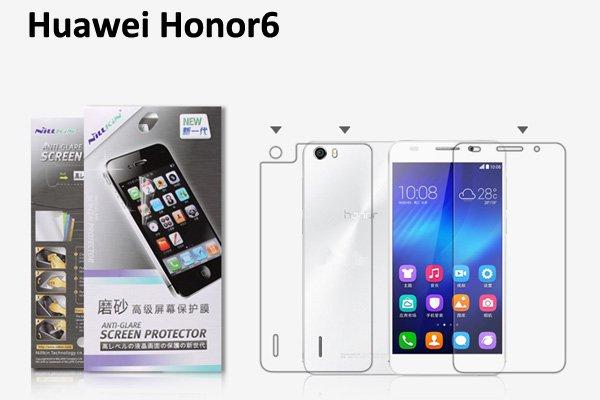 【ネコポス送料無料】Huawei Honor6 液晶保護フィルムセット アンチグレアタイプ  [1]