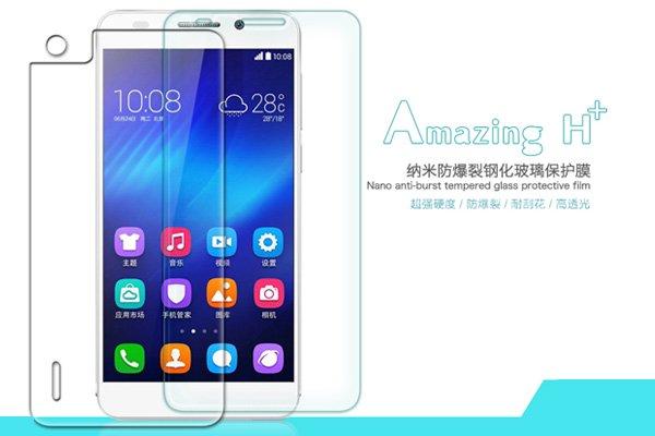 【ネコポス送料無料】Huawei Honor6 強化ガラスフィルム ナノコーティング 硬度9H  [1]