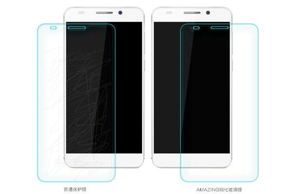 【ネコポス送料無料】Huawei Honor6 強化ガラスフィルム ナノコーティング 硬度9H  [4]