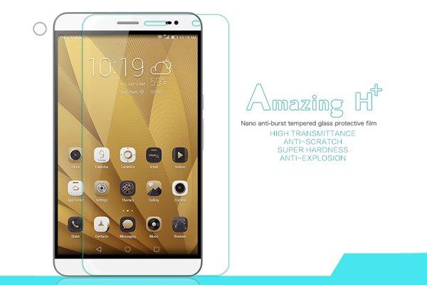 【ネコポス送料無料】Huawei Honor X2 強化ガラスフィルム ナノコーティング 硬度9H  [1]