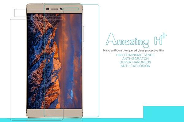 【ネコポス送料無料】Huawei Ascend P8 強化ガラスフィルム ナノコーティング 硬度9H  [1]