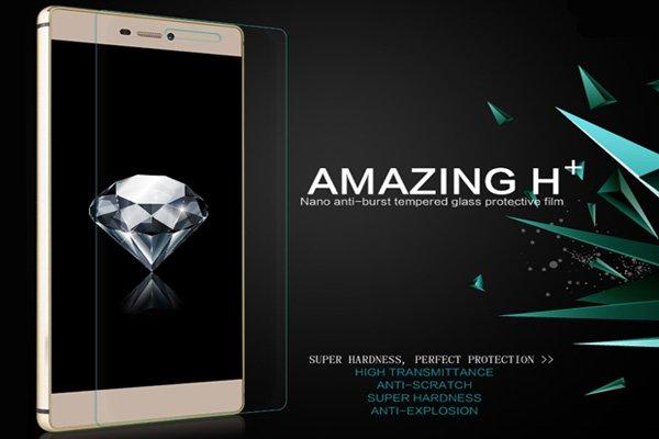 【ネコポス送料無料】Huawei Ascend P8 強化ガラスフィルム ナノコーティング 硬度9H  [2]