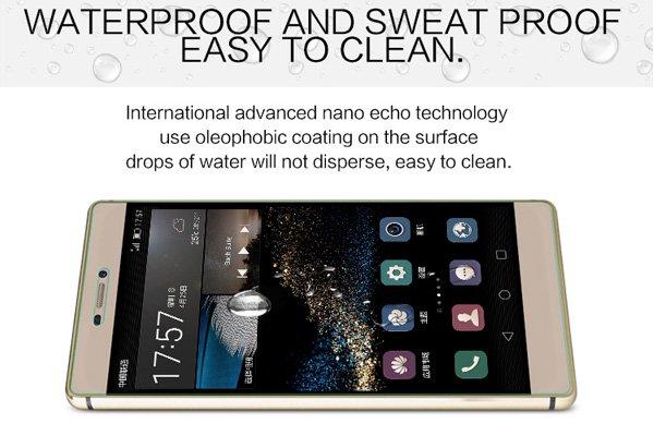 【ネコポス送料無料】Huawei Ascend P8 強化ガラスフィルム ナノコーティング 硬度9H  [5]