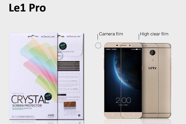 【ネコポス送料無料】Le1 Pro 液晶保護フィルムセット クリスタルクリアタイプ  [1]