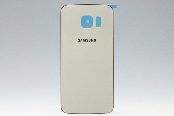 【ネコポス送料無料】Galaxy S6 Edge (SM-G925) バックカバー 全3色  [3]