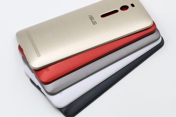 【ネコポス送料無料】ASUS Zenfone2 (ZE551ML) バックカバー 全6色  [13]