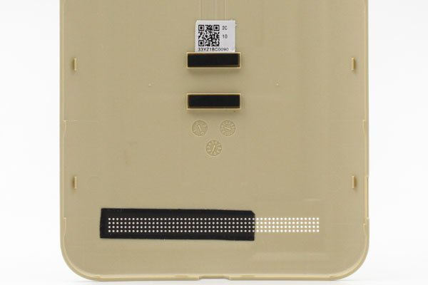 【ネコポス送料無料】ASUS Zenfone2 (ZE551ML) バックカバー 全6色  [17]