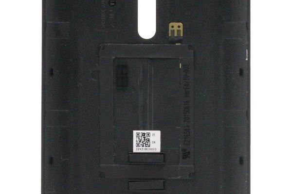 【ネコポス送料無料】ASUS Zenfone2 (ZE551ML) バックカバー 全6色  [4]