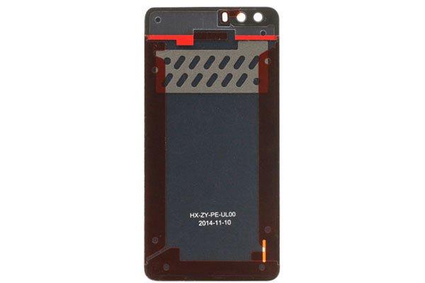 【ネコポス送料無料】Huawei Honor6 Plus バックカバー ブラック  [2]