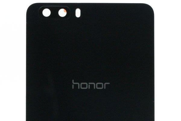 【ネコポス送料無料】Huawei Honor6 Plus バックカバー ブラック  [3]