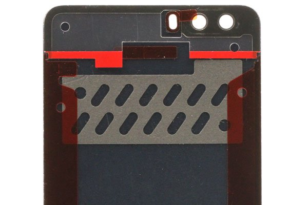【ネコポス送料無料】Huawei Honor6 Plus バックカバー ブラック  [4]