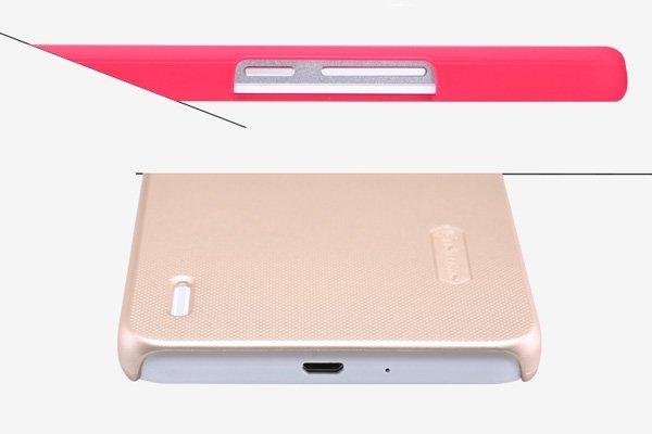 【ネコポス送料無料】Huawei Honor6 Plus専用ハードカバー 液晶保護フィルム付き 全5色  [6]