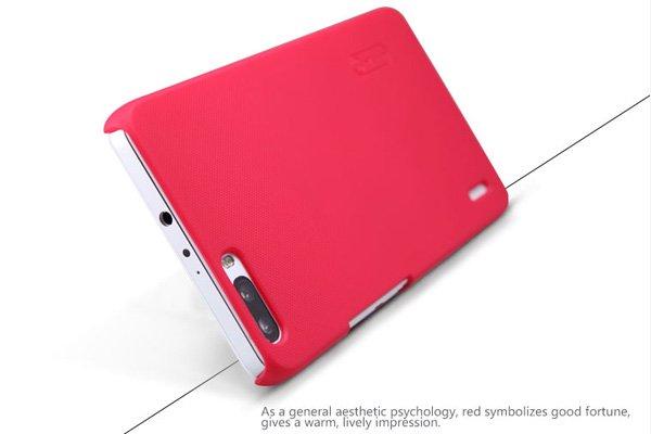 【ネコポス送料無料】Huawei Honor6 Plus専用ハードカバー 液晶保護フィルム付き 全5色  [7]