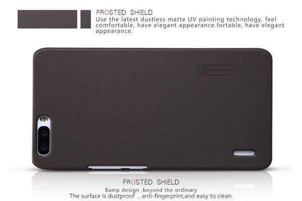 【ネコポス送料無料】Huawei Honor6 Plus専用ハードカバー 液晶保護フィルム付き 全5色  [8]