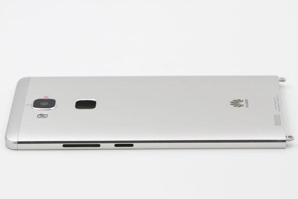 【ネコポス送料無料】Huawei Ascend Mate7 バックカバー シルバー  [6]