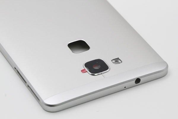 【ネコポス送料無料】Huawei Ascend Mate7 バックカバー シルバー  [8]