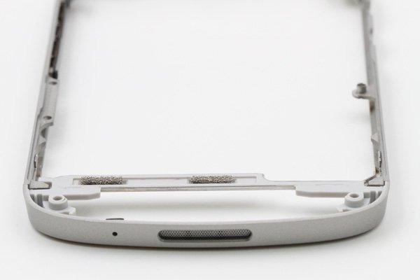 【ネコポス送料無料】Blackberry Q10 フレームASSY ホワイト  [3]