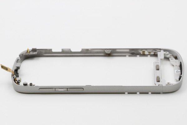 【ネコポス送料無料】Blackberry Q10 フレームASSY ホワイト  [5]