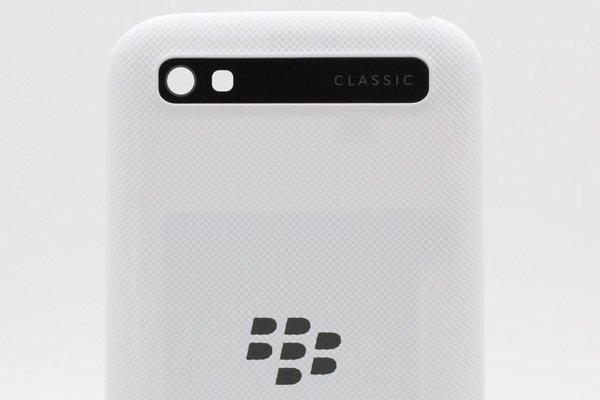【ネコポス送料無料】Blackberry Classic (Q20) バックカバー 全2色 [5]