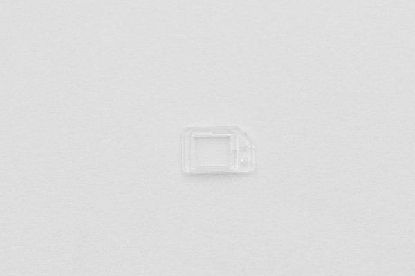 【ネコポス送料無料】iPhone6 フロントパネル用クリアパーツセット  [3]