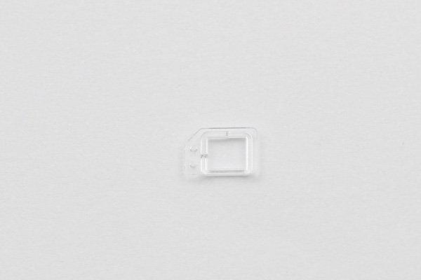 【ネコポス送料無料】iPhone6 フロントパネル用クリアパーツセット  [4]