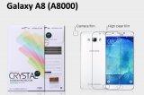 【ネコポス送料無料】Galaxy A8 液晶保護フィルムセット クリスタルクリア