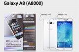【ネコポス送料無料】Galaxy A8 液晶保護フィルムセット アンチグレア