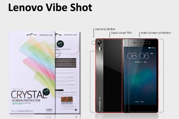 【ネコポス送料無料】Lenovo Vibe Shot (Z90) 液晶保護フィルムセット クリスタルクリアタイプ  [1]