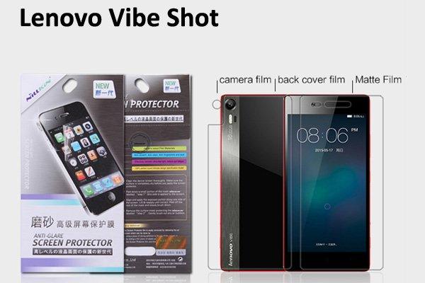 【ネコポス送料無料】Lenovo Vibe Shot (Z90)液晶保護フィルムセット アンチグレアタイプ  [1]