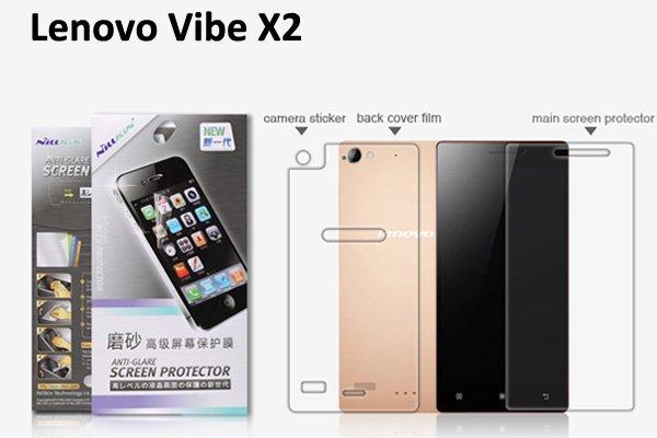 【ネコポス送料無料】Lenovo Vibe X2 液晶保護フィルムセット アンチグレアタイプ  [1]