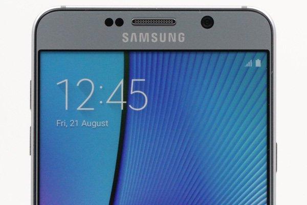 【ネコポス送料無料】SAMSUNG Galaxy Note5 モックアップ 全2色  [5]