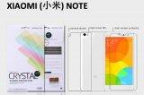 【ネコポス送料無料】XIAOMI(小米)NOTE 液晶保護フィルムセット クリスタルクリアタイプ
