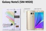 【ネコポス送料無料】Galaxy Note5 (SM-N920)液晶保護フィルムセット クリスタルクリア
