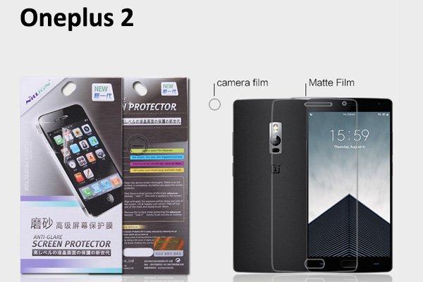 【ネコポス送料無料】Oneplus2 液晶保護フィルムセット アンチグレアタイプ [1]
