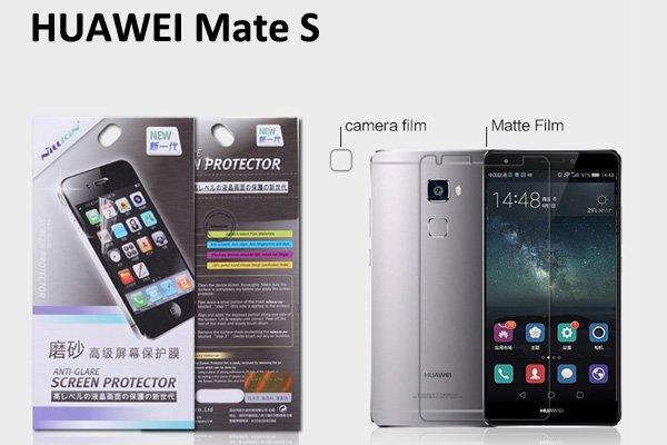 【ネコポス送料無料】Huawei Ascend Mate S 液晶保護フィルムセット アンチグレアタイプ  [1]