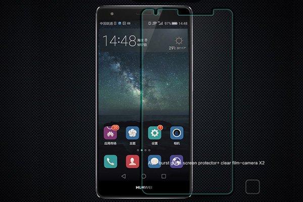 【ネコポス送料無料】Huawei Ascend Mate S 強化ガラスフィルム ナノコーティング 硬度9H  [2]